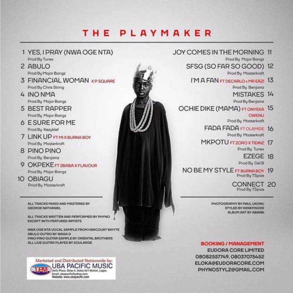 playmaker-tracklist