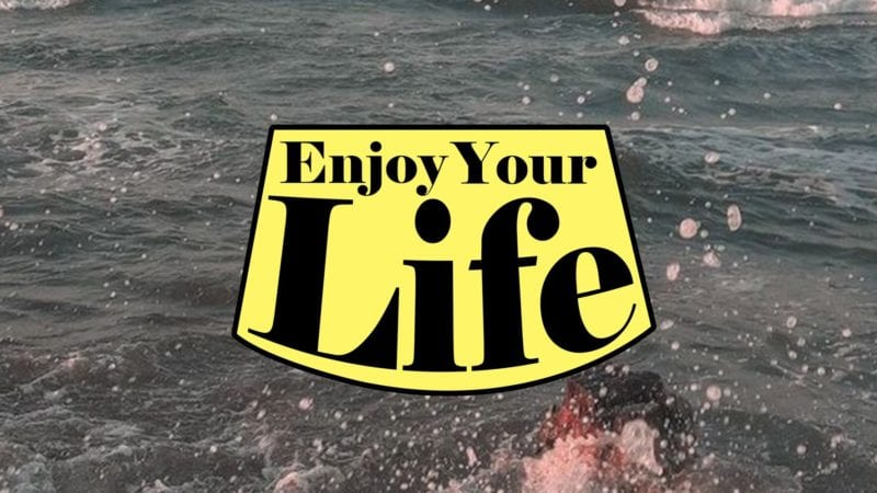 """Cover art for Lady Donli's debut album """"Enjoy Your Life"""""""