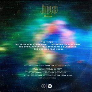 "Tracklist For ""Judah"" (Twitter/MI_Abaga)"